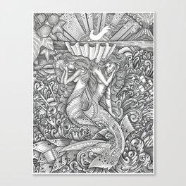 Taema ma Tilafaiga Canvas Print