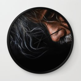 Man in thought Wall Clock