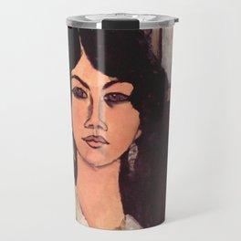 """Amedeo Modigliani """"Almaiisa Seated"""" Travel Mug"""