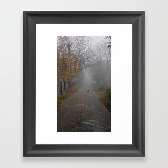 Catmosphere Framed Art Print