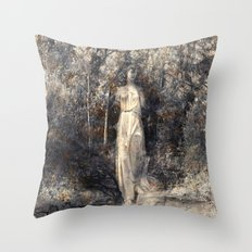 In the arms of Nature Throw Pillow