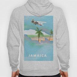 Jamaica Travel Poster. Hoody