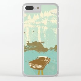 KEITH'S 1961 PONTIAC TEMPEST Clear iPhone Case