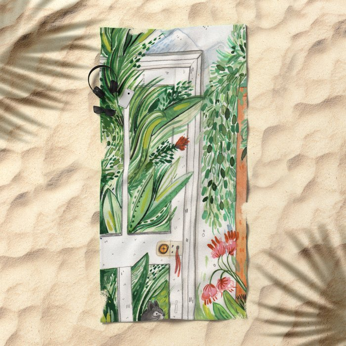 The Jungle Room Beach Towel