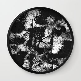 Minimal Black and White Wall Clock