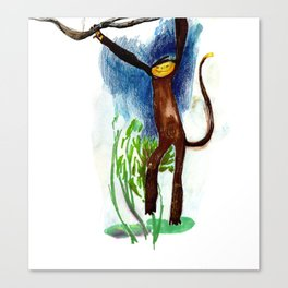 Cheeky Monkey Canvas Print