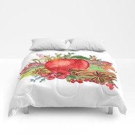 Apple Bouquet Comforters