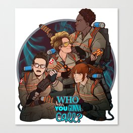 GHOSTBUSTERS 1 Canvas Print