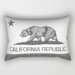 California Republic state flag Rectangular Pillow