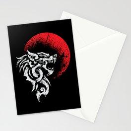 Viking Fenrir - Monstrous Wolf Norse Mythology Stationery Cards