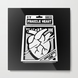 Fragile Heart Metal Print