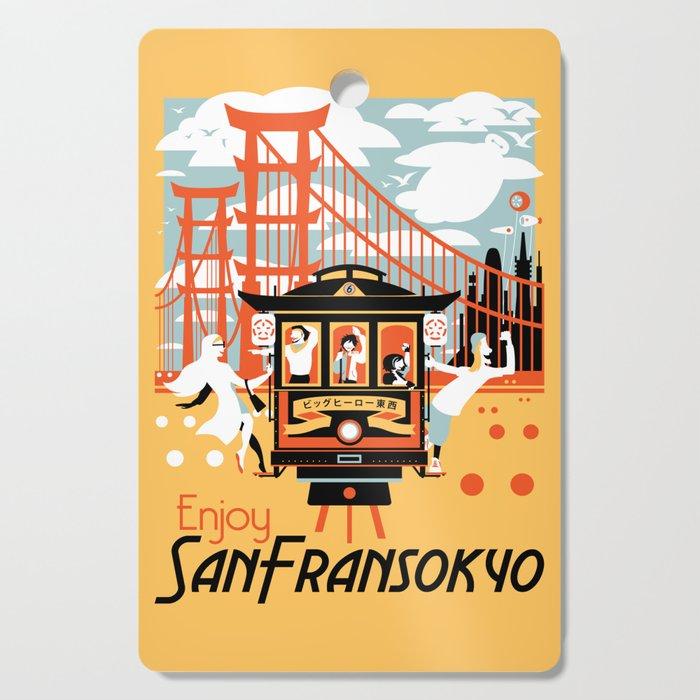 Enjoy San Fransokyo Cutting Board