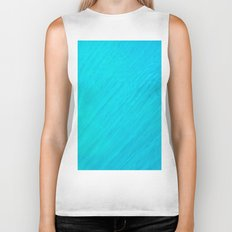 Turquoise Marble River Biker Tank