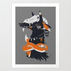 Hylactor Art Print