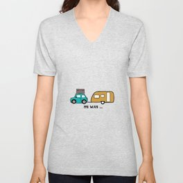 My way - travel with me Unisex V-Neck