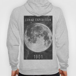 1901 Lunar Expedition Poster Hoody