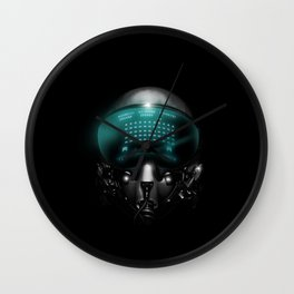 Space Invasion Wall Clock
