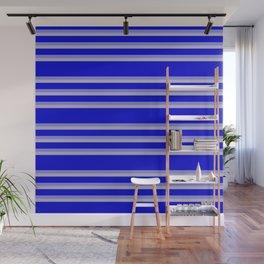 stripes home decor Wall Mural