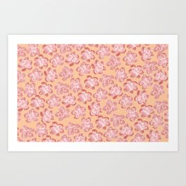 Wallflower - Coralette Art Print