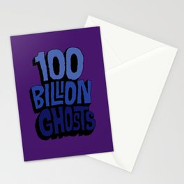 100 Billion Ghosts Stationery Cards