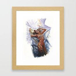Dappled full size Framed Art Print