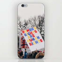 Women's March on the National Mall iPhone Skin