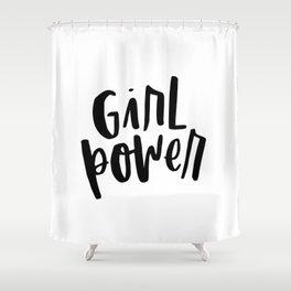 Girl Power 2 Shower Curtain