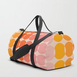 Strawberry Dots Duffle Bag