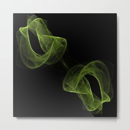 Fractal Abstract 27 Metal Print