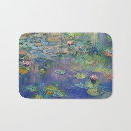 Water Garden Bath Mat