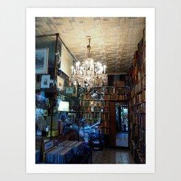 Magnificent book store Art Print