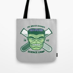 Dr. Banner Science Camp Tote Bag