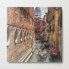 Venice Canal San Marco Metal Print