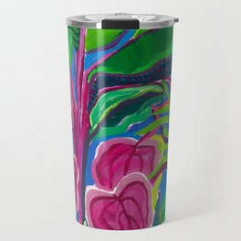 Banana Plant Print Travel Mug