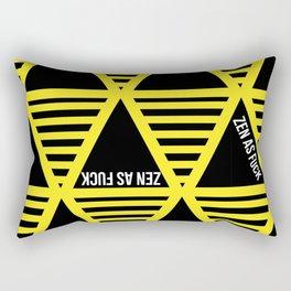 ZEN AS FUCK Rectangular Pillow