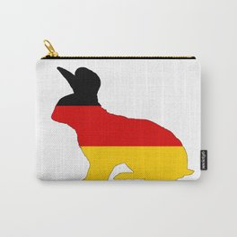 German Flag - Rabbit Carry-All Pouch