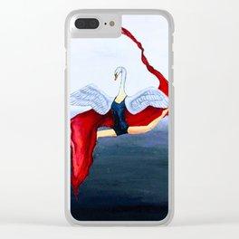 A Dancer Clear iPhone Case