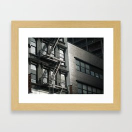 New York Apartment  Framed Art Print