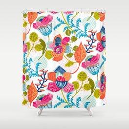 Tropical Jazz Shower Curtain