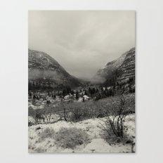 Telluride Mist Canvas Print