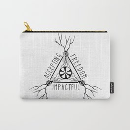 ACCEPTING - FREEDOM - IMPACTFUL Carry-All Pouch
