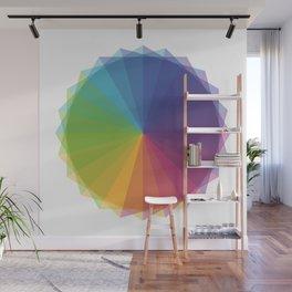 Fig. 011 Rainbow Circle Wall Mural