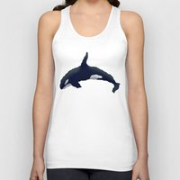 orca Tank Tops featuring Orca by Dusty Goods