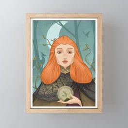 Druid Framed Mini Art Print