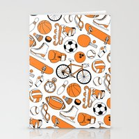 sports Stationery Cards featuring SPORTS by Shoreside