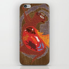 BEAST EATING MONSTER  iPhone Skin