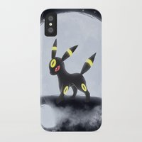 umbreon iPhone & iPod Cases featuring Umbreon by EnaGrapher
