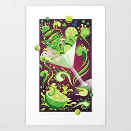 Toxic Flirtation - Mixology Series Art Print