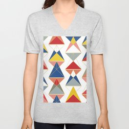 Triangular Affair II Unisex V-Neck