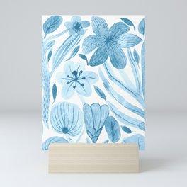 Swept Away Wildflowers Mini Art Print